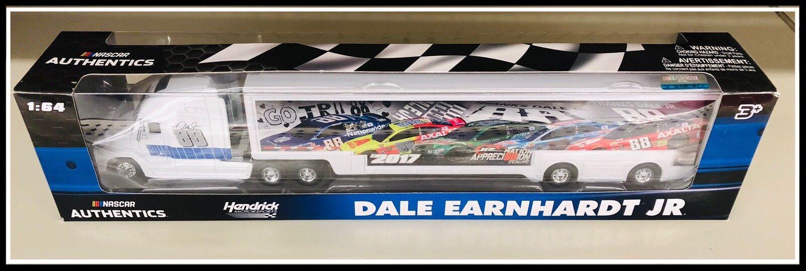 NEW  DALE JR NATION Appreci88ion Tour Hauler Diecast Diecast Diecast 1 64 NASCAR AUTHENTICS bdd069