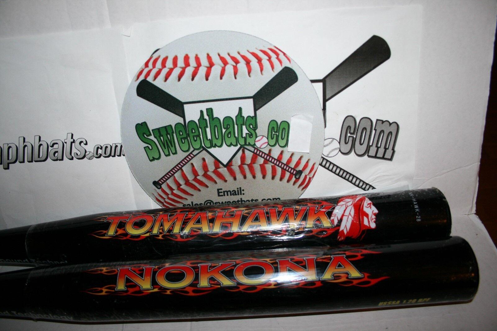 New in Wrapper Rare Nokona Tomahawk softball bat NIW HOT NK-HAWK-28 34