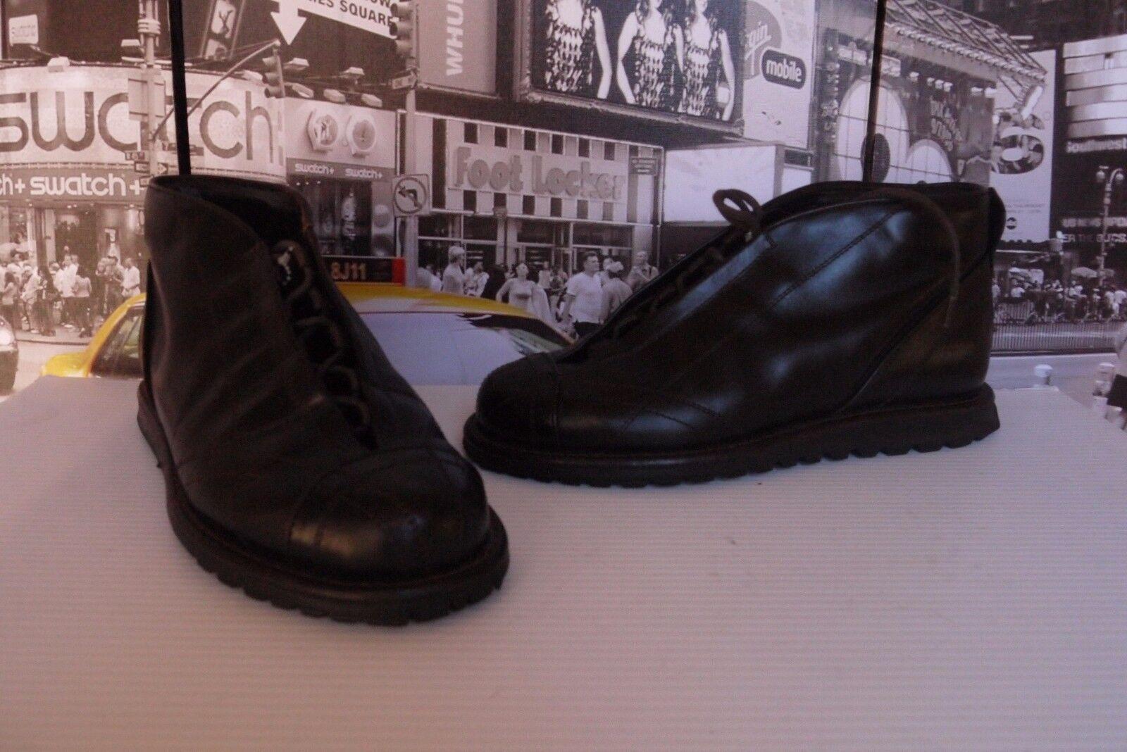 GORDON RUSH ITALY INSTINCT BOOTS CHUKKA CAP TOE SIZE US US US 8 EUR 41 NICE !!! 7fa803