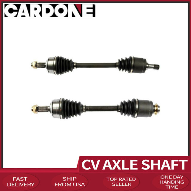 Cardone CV Axle Shaft Front Left+Right X2 Fits 2009-2012