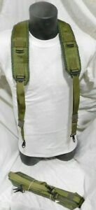 New-Y-SUSPENDERS-US-Military-Alice-LBE-Load-Bearing-Shoulder-Web-Harness-OD-NEW