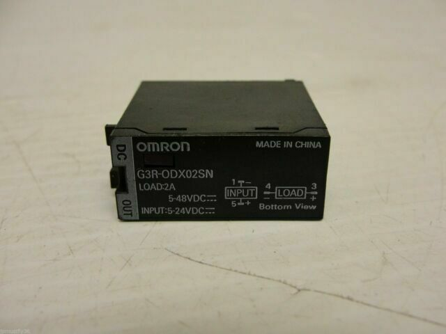 5-48vdc input 5-24vdc 2a 2 Amp Load Solid State Relay Omron G3R-ODX02SN