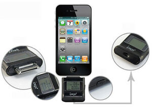 Genuine ipego iPhone iPad iPod Accurate Digital Pocket Alcohol Tester - Black