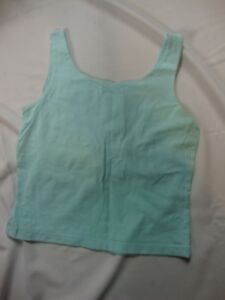 Eddie-Bauer-Light-Sky-Blue-Sleeveless-Tank-Top-Size-S-Small-Stretch