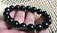 "14 mmchinese 100/% Natural HeTIan Jade Jade Bead Bracelet 7.5-8/"" S001"