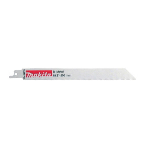 Makita P-04933 Sabre Blade Stainless steel Pack of 5 alloys cast iron