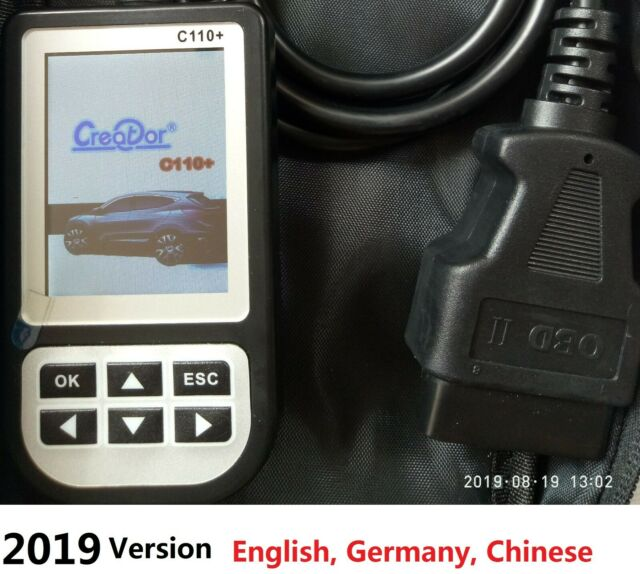 NEW C110 Full System Engine Airbag ABS SRS Scan Tool Code Reader Fits BMW MINI