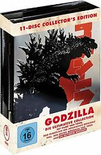 Steelbook 11 Blu-Ray GODZILLA Box METALLBOX MechaGodzilla DESTOROYAH Ghidorah ..