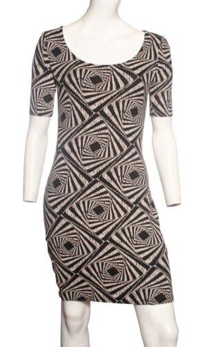 Ex Dorothy Perkins Stretch Aztec Design Dress