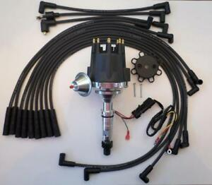Details about Small Cap BUICK NAILHEAD 322 364 401 425 HEI Distributor +  SPARK PLUG WIRES