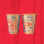 thumbnail 2 - Vintage 1950s 1960s Mister Softee Lot Of 5 Chilleroo Wax Paper Cup FREE SHIPPING