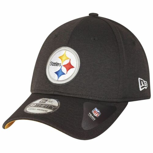 NEW Era 39 Thirty Stretch Cap-Shadow Pittsburgh Steelers