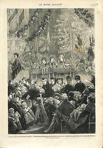 DISTRIBUTION-CADEAUX-ARBRE-DE-NOEL-ALSACE-LORRAINE-OCCUPEES-1873