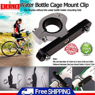 QA/_ Bike Bicycle Water Bottle Cage Holder Clamp Clip Handlebar Bracket Mount S