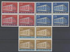 MONACO - 1969 - Europa - quartina