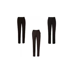 NEW LADIES WOMENS POLYESTER STRETCH SLACKS BUSINESS WORK  PANT DRESS PANTS