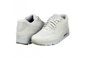 819477 005 Nike Air Max 90 Ultra Moire Shoes Pure Platinum