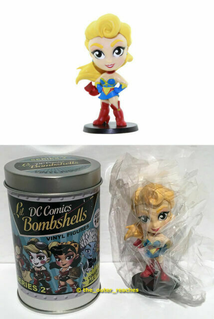 Cryptozoic Dc Comics Lil Bombshells Series 2 Figure by the Unit with Tin Choose
