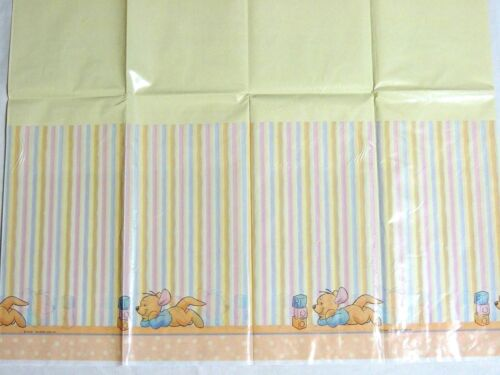 "PLATIC TABLE COVER 54/""X 102/""   PARTY SUPPLIES ~WINNIE THE POOH~ BABY ROO 1"