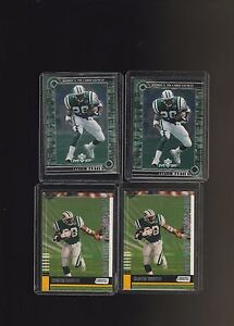 Curtis-Martin-Jets-Football-46-Card-Lot-Insert-and-Base