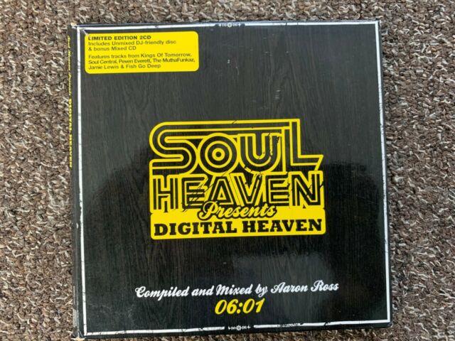 SOUL HEAVEN presents DIGITAL HEAVEN  2 X CD  MIXED & UNMIXED 06.01 free P&P