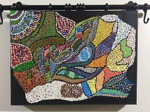 Astratto-tecnica-mista-su-tela-e-acrilico-40x30-cm-anonimo
