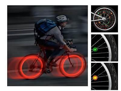 Nite Ize Spoke Lit/See'Em - LED Lights for Bike Wheels - Pack of 2 Blue or Green