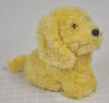 "AMERICAN GIRL Honey GOLDEN Retriever FLUFFY Dog Figure 5.5"" Tall NO Collar Clean"