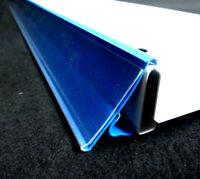 50x Preisschienen 125cm Tego Kind Blau Neuware Scanningschienen Schlecker Regale