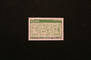 Elegant And Graceful cyn1 Timbre Yvert&tellier N°347 N**- Stamp Andorra Andorre Francais