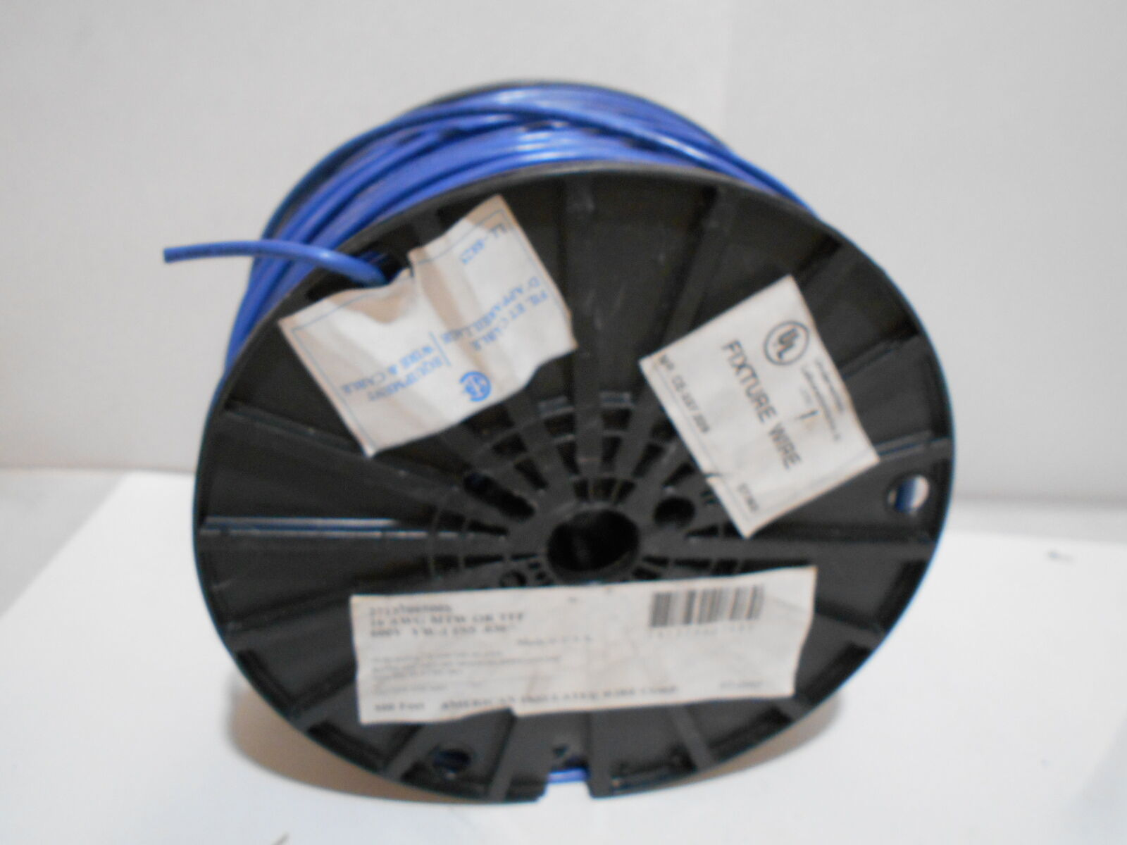 500 Feet American Insulated Wire 16 AWG TFF or MTW 600v - Blue- Vw-1 ...