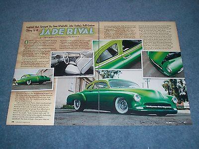 "1952 Chevy 2 Türen Sedan Led Schlitten Artikel Jade Rival "" Winfield Angenehm Bis Zum Gaumen"