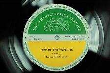 BBC 287 Transcription Disc TOP POPS Deep Purple The Move Moody Blues Shockingblu