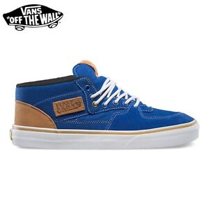 VANS Scarpe UOMO Shoes Half Cab 10 OZ Canvas SKATE Originali NUOVE New MENS Bl