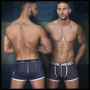 boxer-sexy-calecon-slip-homme-mode-Pink-hero-taille-L
