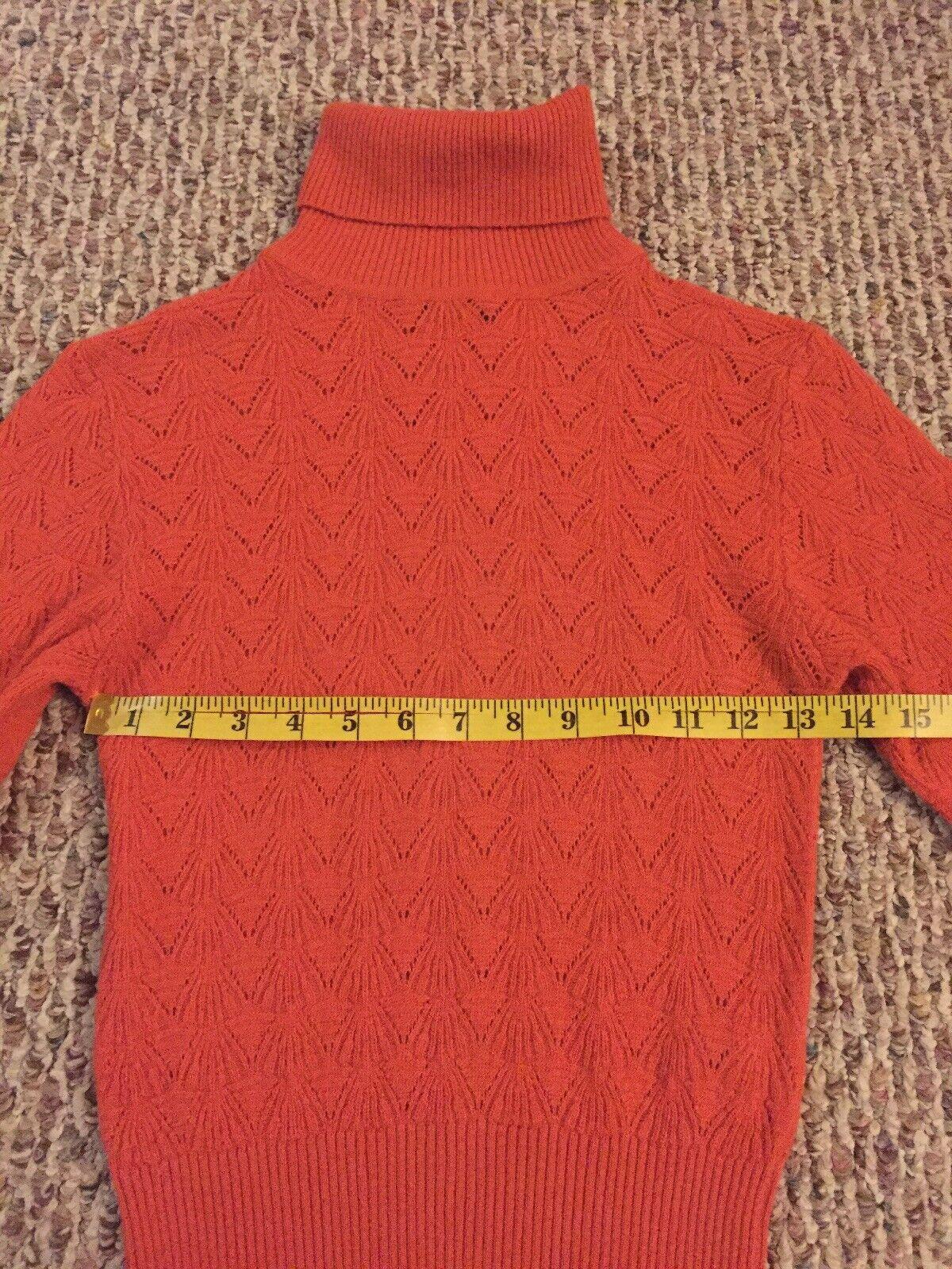 D&G DOLCE & GABBANA Wool Blend Turtleneck Knit Sw… - image 8