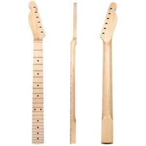 lefty left handed electric guitar neck for tl parts replacement 22 fret maple 634458757751 ebay. Black Bedroom Furniture Sets. Home Design Ideas