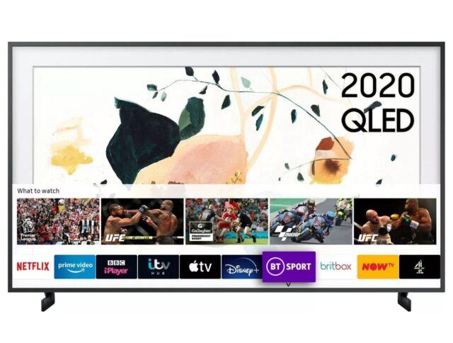 """Samsung el marco 65"""" QE65LS03T modo de arte qled 4K HDR Smart Tv Soporte & No-Gap"""