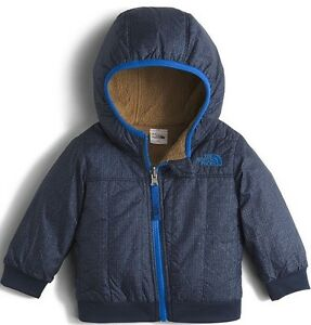 TNF The North Face Toddler REVERSIBLE Yukon Hood Cosmic Blue 2T Jacket