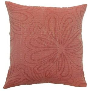 The Pillow Collection Pomona Floral Claret King Sham Nip Ebay