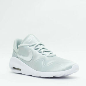 WOMEN S NIKE AIR MAX SASHA SATIN CASUAL SHOES BARELY GREY WHITE ... fb107fe41