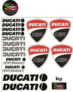 Adesivi-Stickers-DUCATI-Corse-Superbike-848-1199-Panigale-1200-Monster-696-796