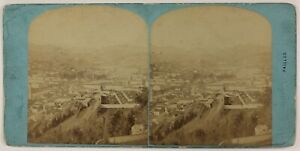 Nice-Vallee-Del-Paillon-Francia-Foto-Stereo-P28T4n17-Vintage-Albumina-c1870