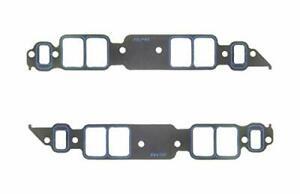 Fel-Pro 1275 S-3 BIG Block Chevy Rectangle Port Intake Manifold Gaskets Pair (2)