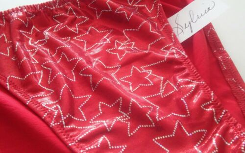 Mens Shiny Stars Brief S M L or XL USA Custom Style Diver Handmade USA Swimsuit