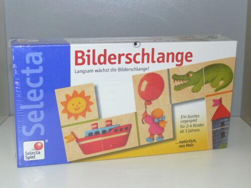 Bilderschlange 3524 Buntes Legespiel ab 3 Jahren Neu&Ovp Nr Selecta