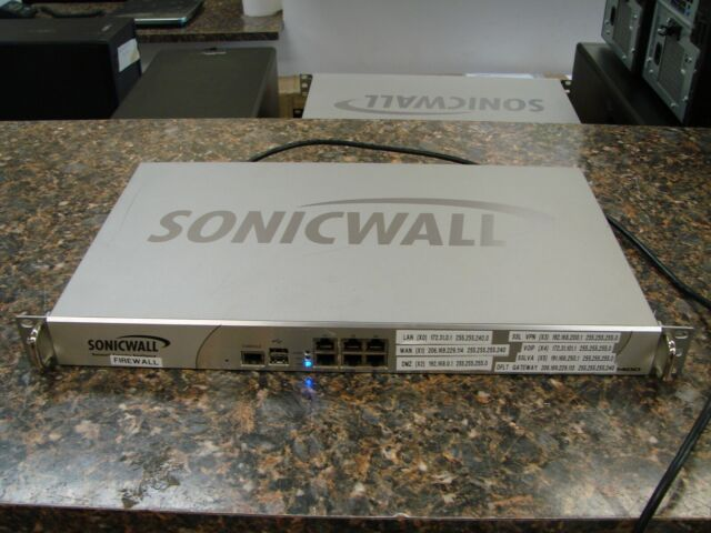 SONICWALL NSA 2400 1RK14-053 Network Security Appliance