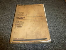 Caterpillar Cat D8N Crawler Tractor Powershift w/3406 Engine Part Catalog Manual