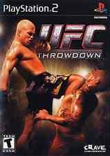 UFC THROWDOWN                  -----   pour PS2