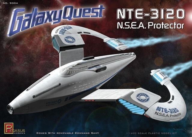 Pegasus Hobbies 1 1400 Galaxy Quest NTE-3120 N.S.E.A. Predector